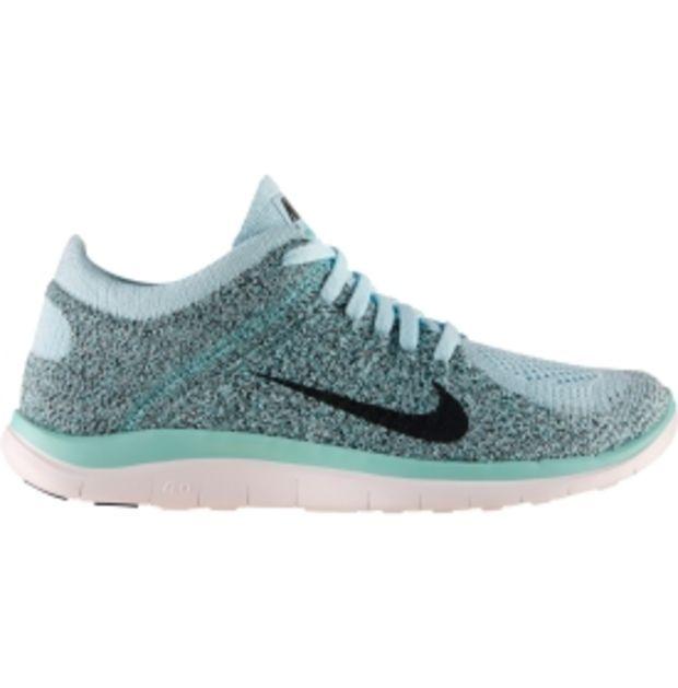 Nike Women's Free 4.0 Flyknit Running Shoe - Grey/Mango/Black   DICK'S  Sporting