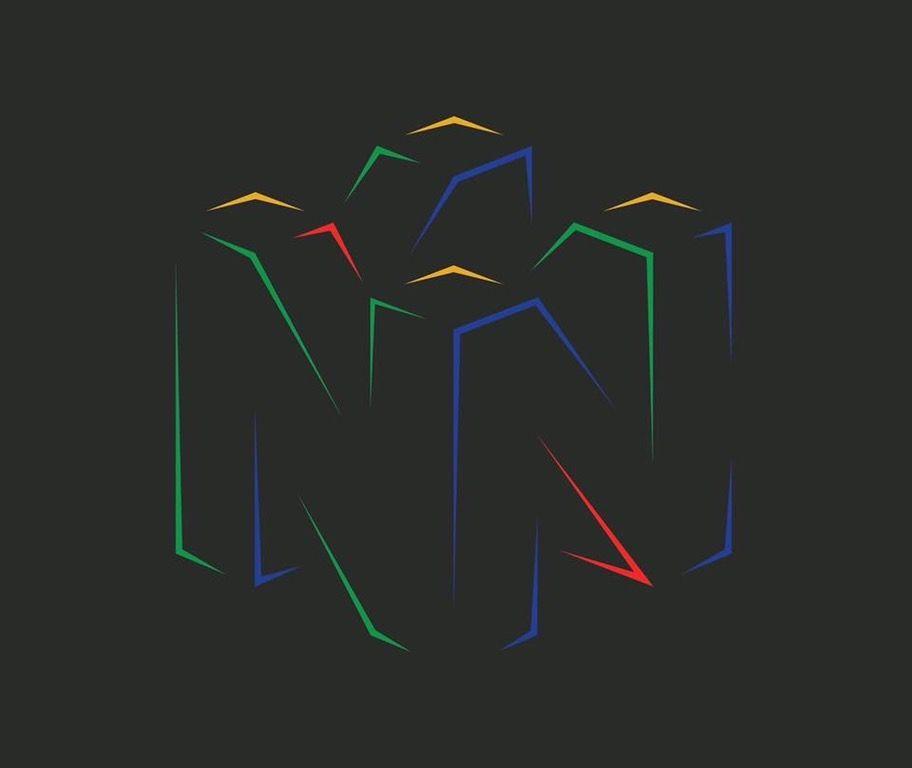 Always loved the Nintendo 64 logo, so I made a minimalist