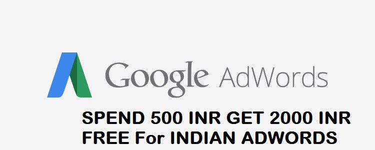 Google Adwords Coupon For India Spend 500 INR Get 2000 INR | Adwords