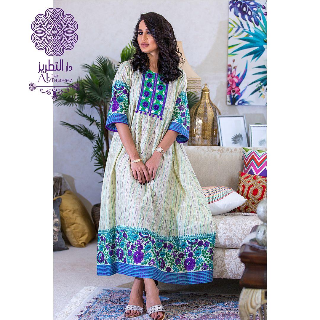 نفذت الكمية ويمكن تنفيذه على اقمشتكم Dress Midi Length Cotton Classic Dress With Embroidery Price 550 Qar Size Free Size Fashion Clothes Dresses