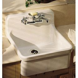 Gilford Apron Front Wall Mount Kitchen Sink By Kohler 8 Inch