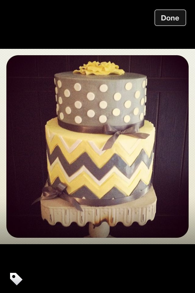 Chevron Cake This Is A Lacey And Jon Cake Natalie Jost Jost