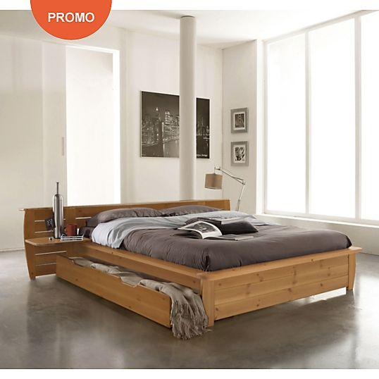lit complet th o 140 x 190 cm lit complet les lieux et. Black Bedroom Furniture Sets. Home Design Ideas