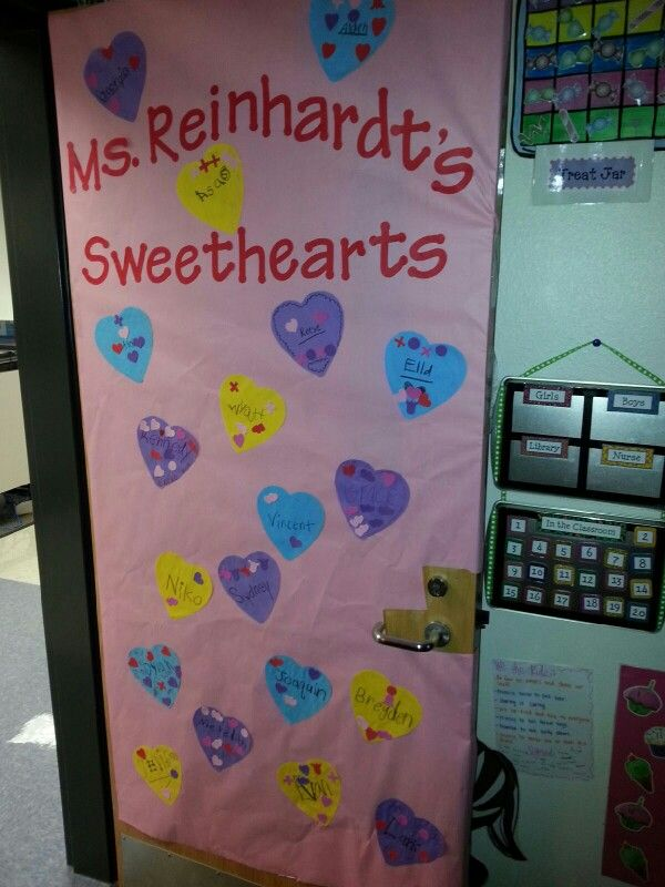 Classroom Ideas For Valentines Day : Valentines day classroom door ideas