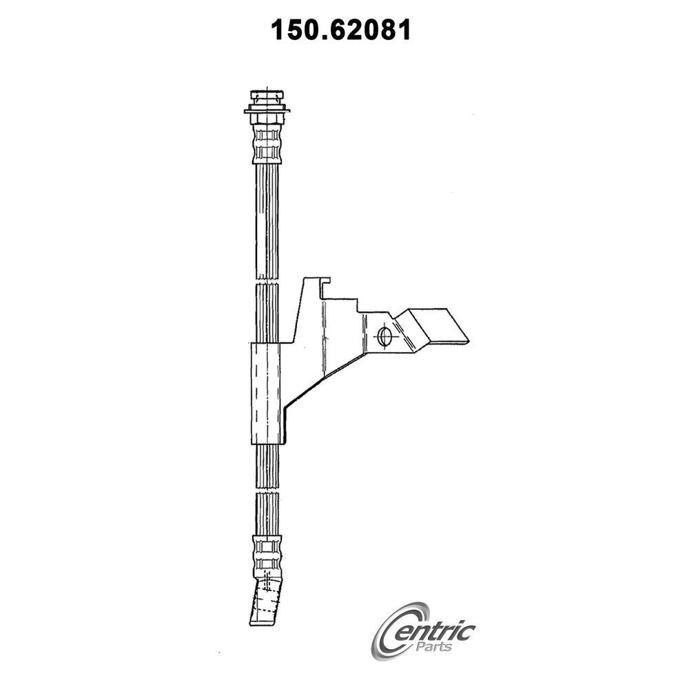 Centric Parts Brake Hydraulic Hose 150 62081 Pontiac Bonneville Buick Lesabre Buick Park Avenue