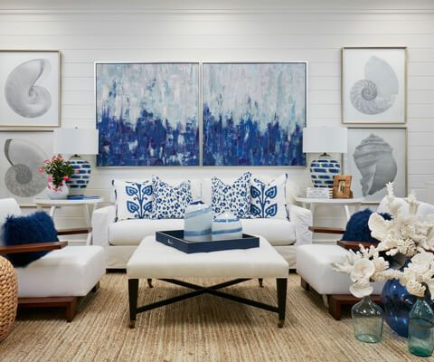 Your Style Modern Coastal Interiors Pineapples Palms Too With