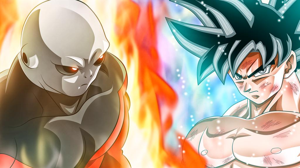 Jiren Vs Goku By Rmehedi Goku Vs Jiren Dragon Ball Super Anime Dragon Ball