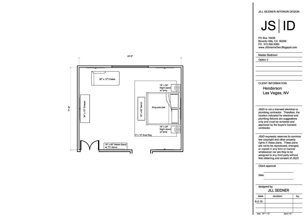 Las Vegas Nv Online Design Project Master Bedroom Furniture Floor Plan Layout Option 3 Spaceplann Floor Plan Layout Master Bedroom Furniture Space Planning