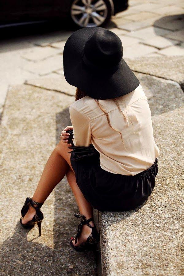 dustjacket attic: Fashion Inspiration | Black Bows