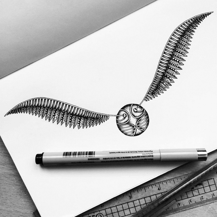 i-am-obsessed-with-drawing-super-detailed-art-08 ...