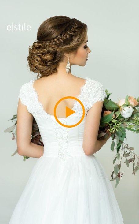 Peinado recomendado: Elstile; www.elstile.ru; Idea de peinado de boda. – Boda Ja …