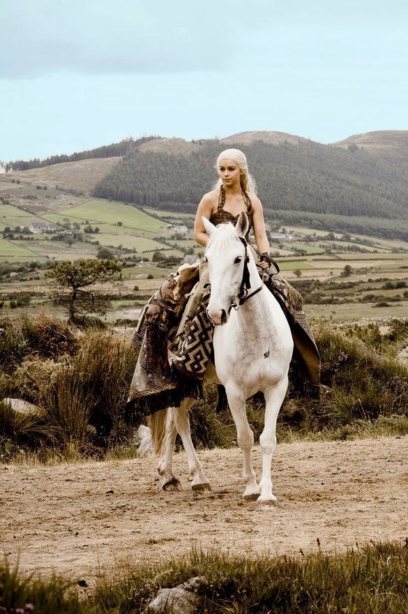 Daenerys Horse Daenerys targaryen, Game of thrones