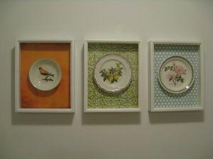 Kitchen Wall Art Update Homemade Plate Decor Plates On