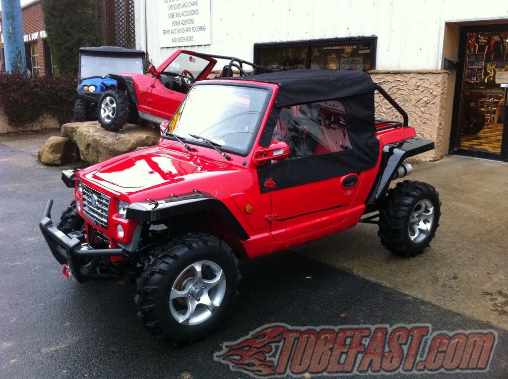 The Edge Barracuda Mini buggy. The EDGE Products is a