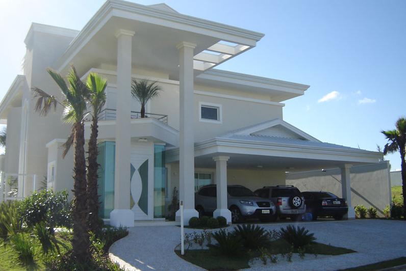 40 fachadas de casas modernas e esculturais maravilhosas for Casas modernas famosas
