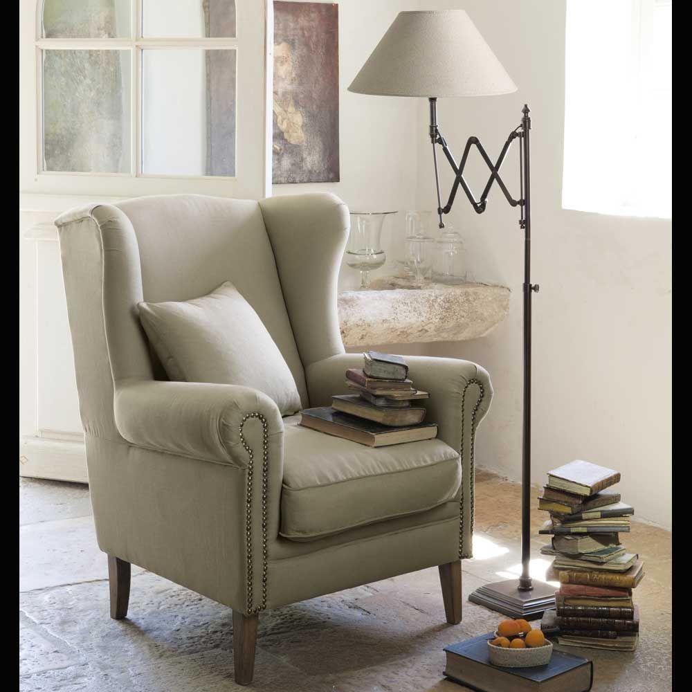 luminaires salons pinterest wing chair chair et armchair. Black Bedroom Furniture Sets. Home Design Ideas