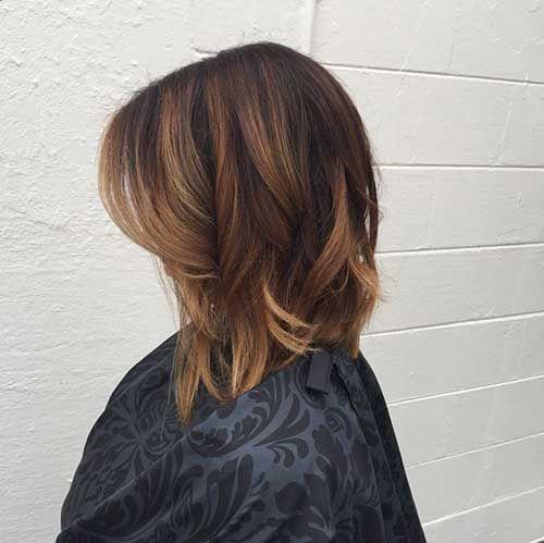 long bob ombre hair hairs