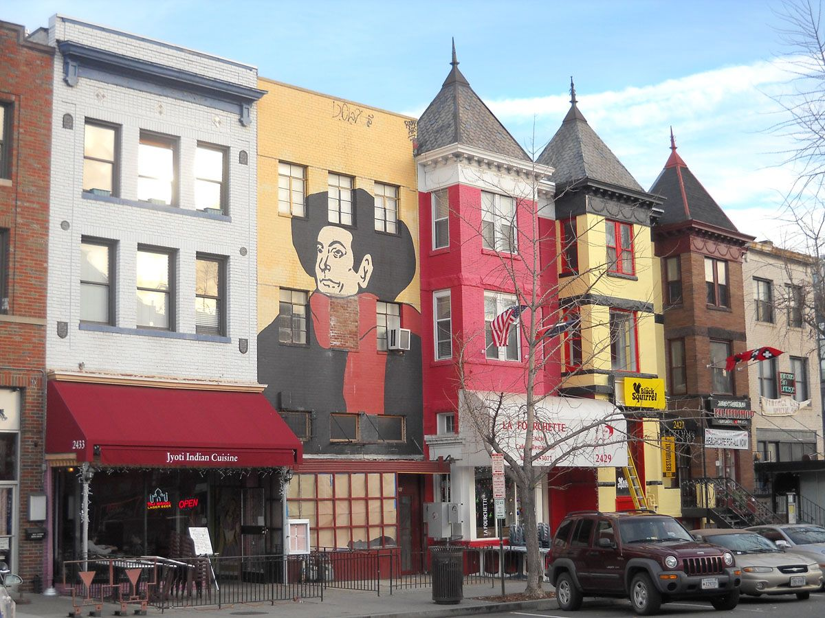 Adams Morgan Washington Dc Looks Like Cafe Lautrec Is