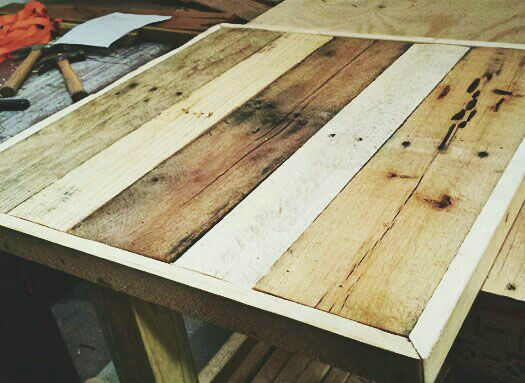 Reclaimed Wood Table Tops Made For La Fresa Francesa In Miami Fl Www Redrhinoreclaim
