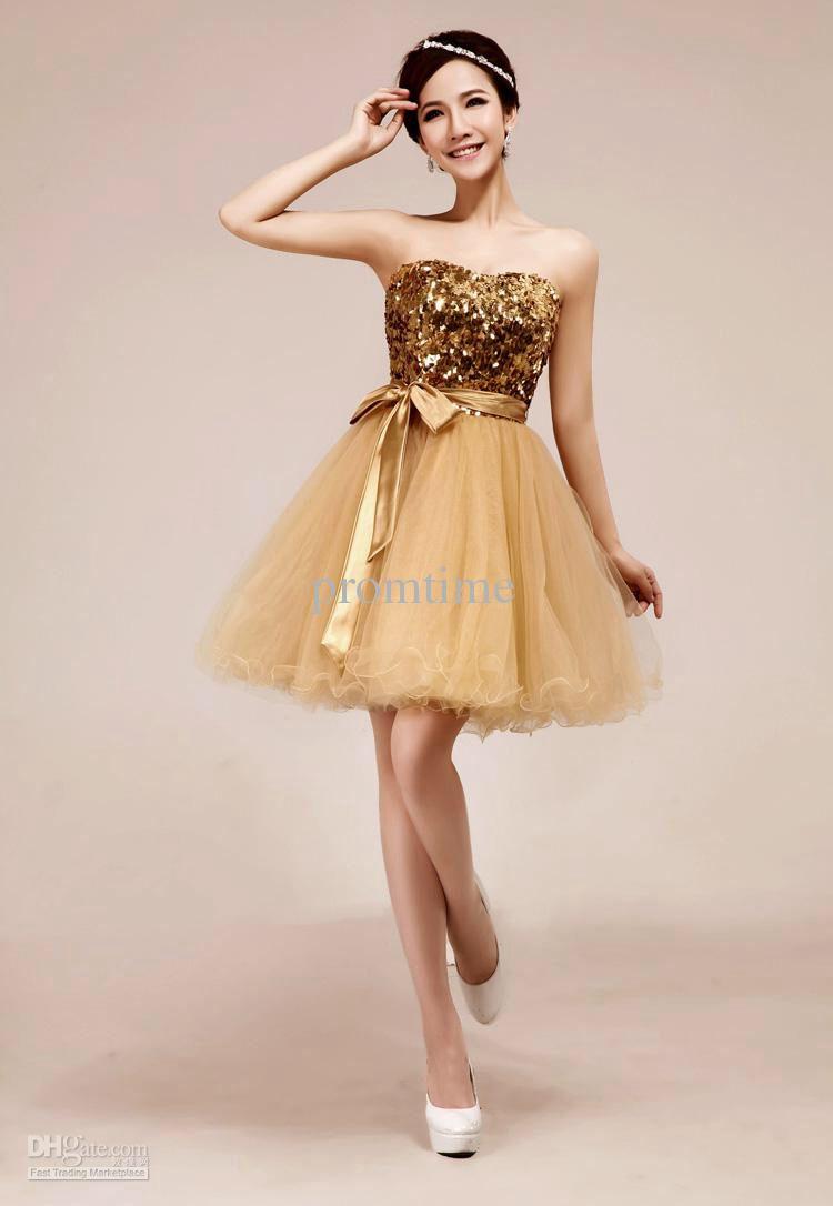 Gold prom dress prom dress gold pinterest gold prom dresses
