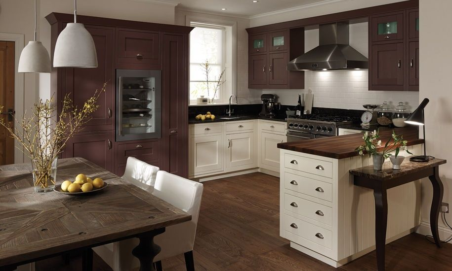 Milbourne In Frame Again Lovely Layout Classic Kitchens