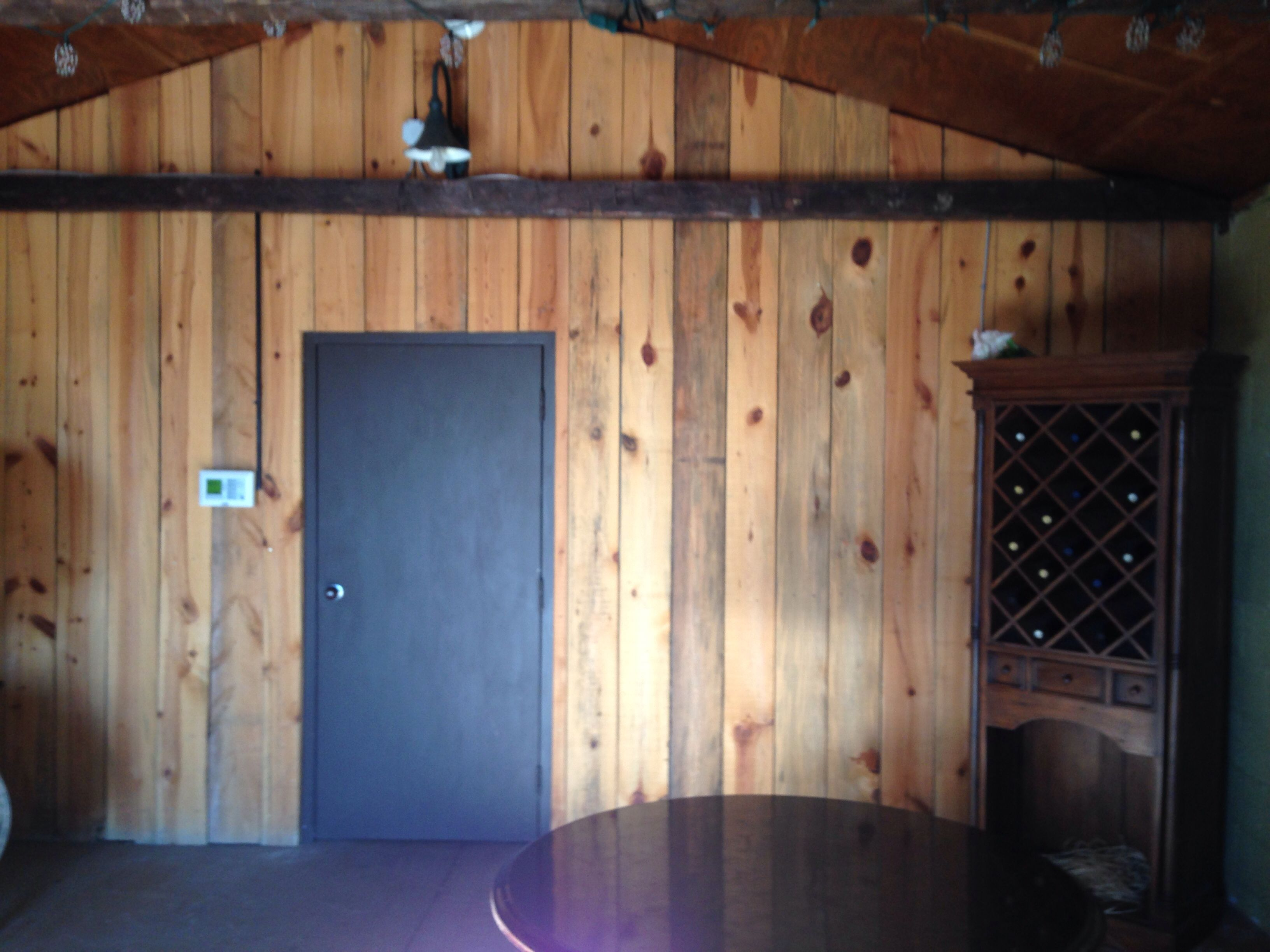 Talon Winery's Entrance Guest Book Room Of Barn