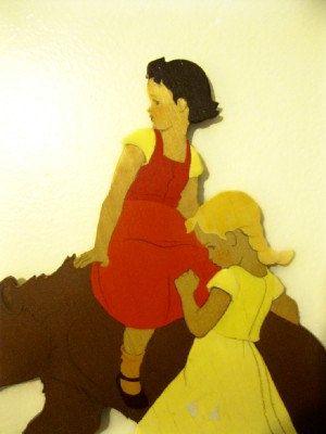 2 Hellerkunst Holzwand Plaketten von JunqueandStuffe auf Etsy