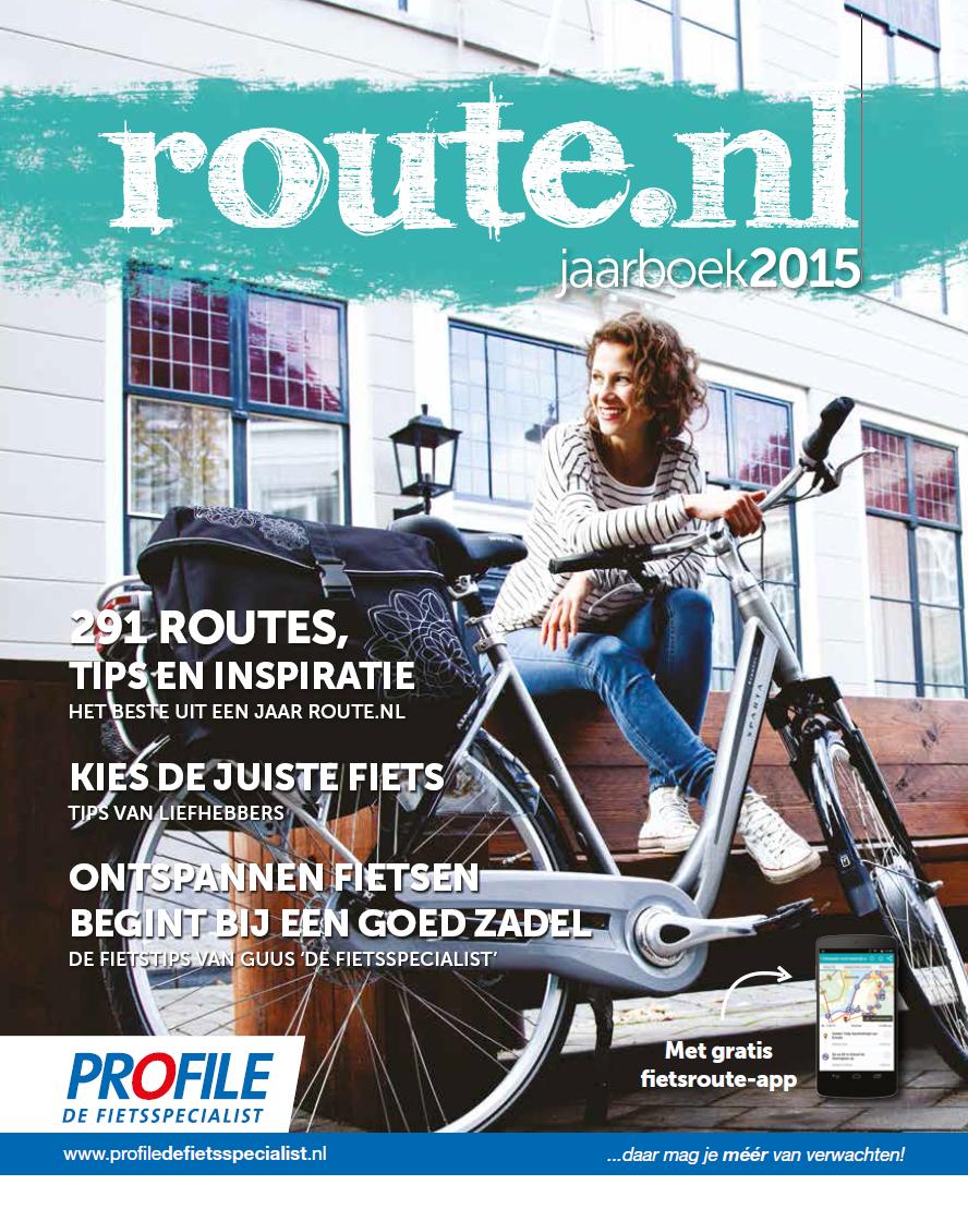 Binnenkort verkrijgbaar! Het nieuwe Jaarboek 2015 magazine van route.nl :-)