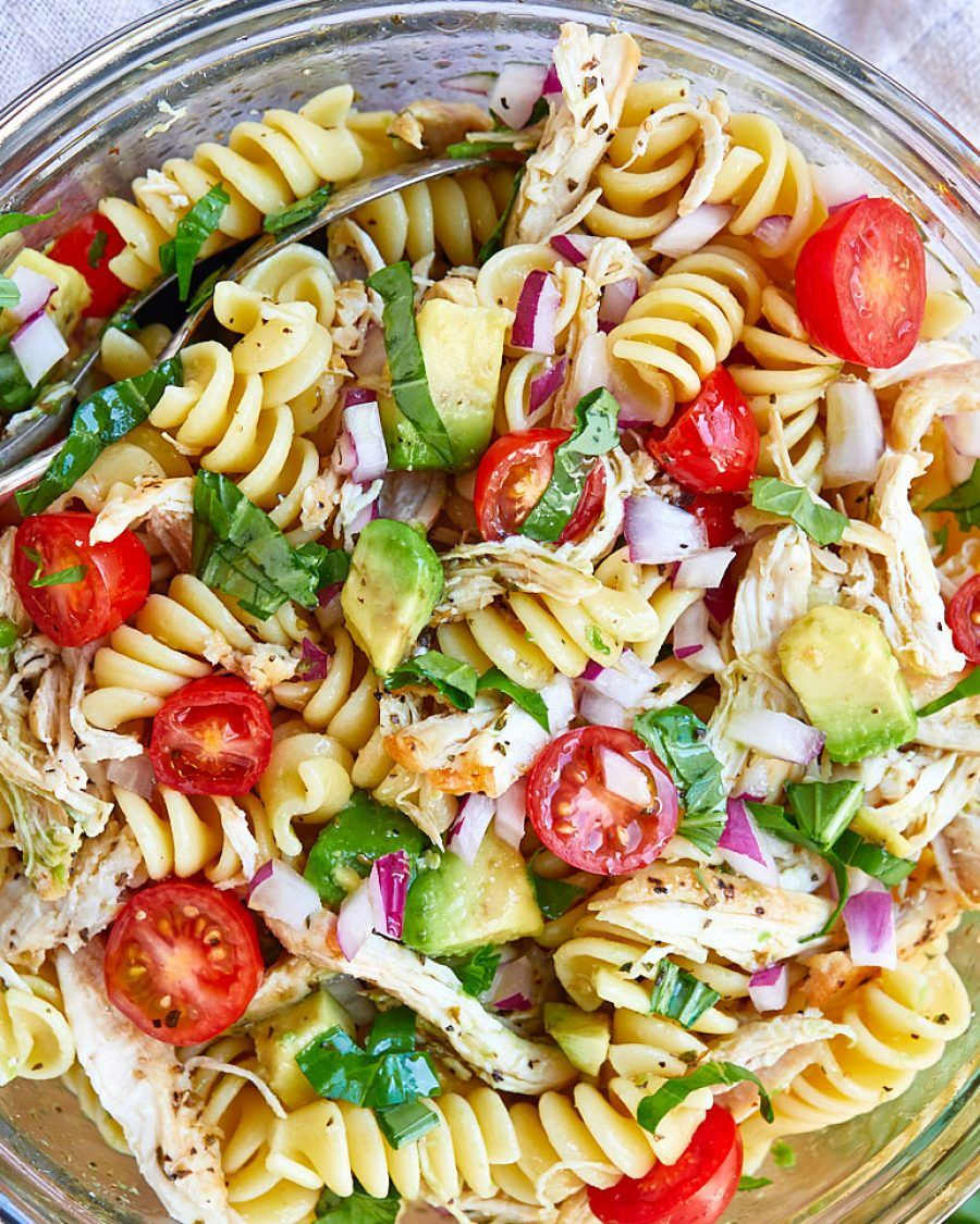 7 Healthy Pasta Salad Ideas Perfect For A Potluck Or Cold Meal