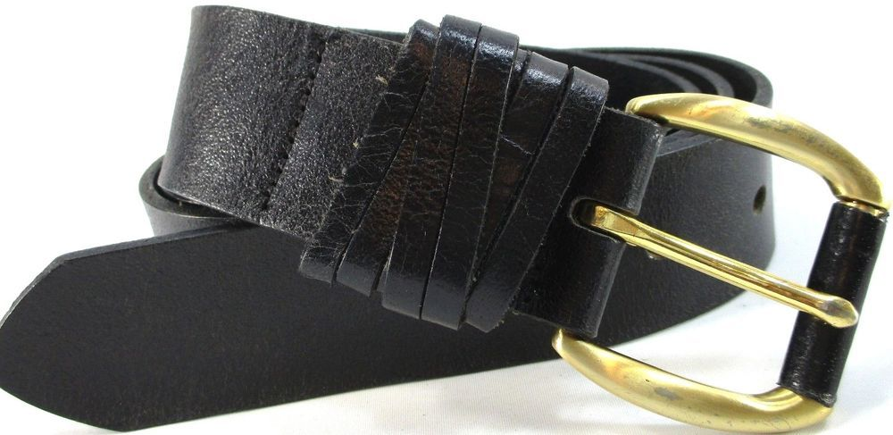 588e1530c4ab Tommy Hilfiger Women Leather Belt Size SM Black 40 Inches Long 1.5 Inches  Wide  TommyHilfiger