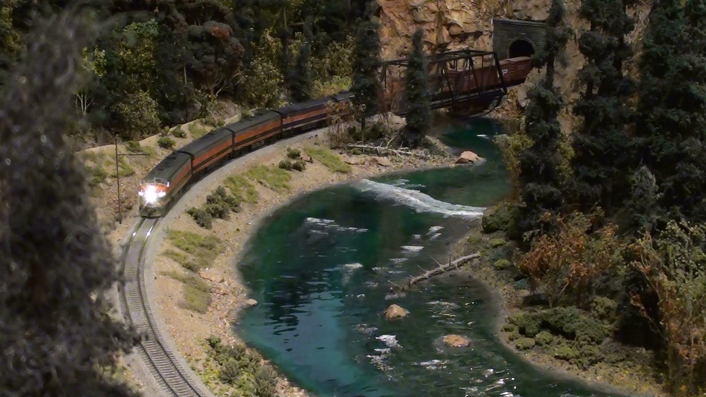 realistic model train layouts - Google Search