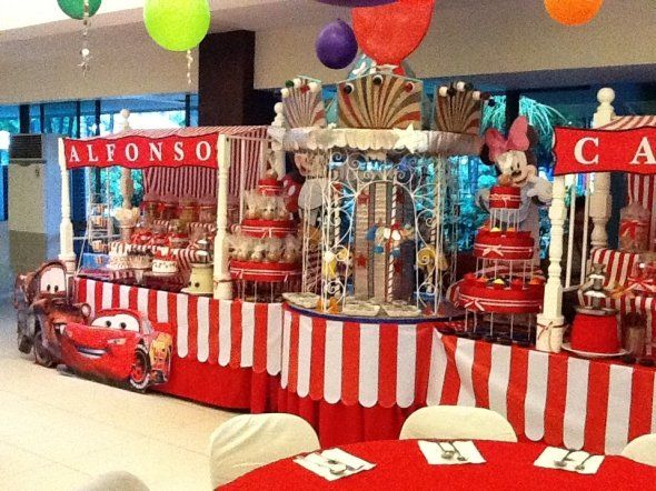 Vintage Circus/ carnival theme childrens party   Circus party ...