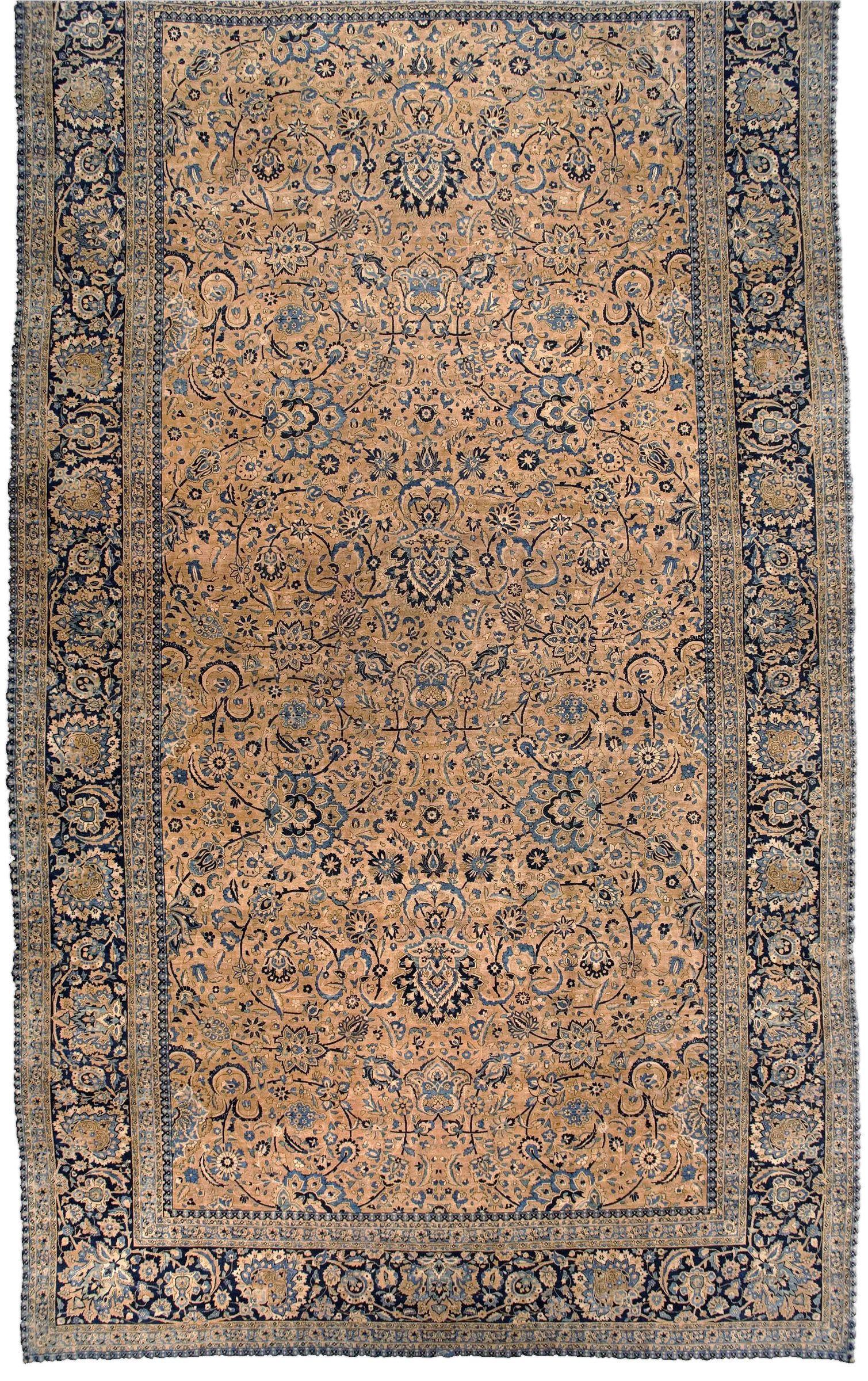 Oversized Vintage Persian Kirman Rug Extra Large Rugs Vintage Persian Rug Area Rugs