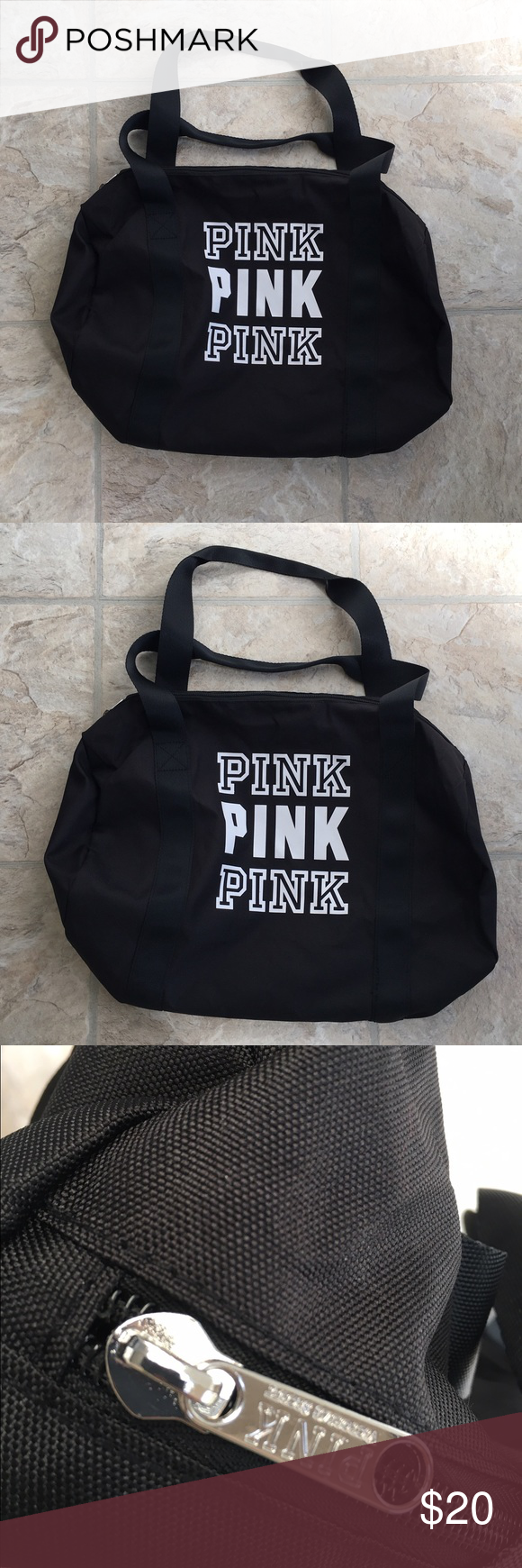New Victoria's Secret Duffle Bag New Victoria's Secret Duffle Bag/Gym Bag. Brand New. PINK Victoria's Secret Bags