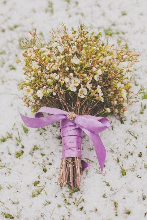 East Meets West - A Winter Wonderland Styled Shoot | Wax flowers ...
