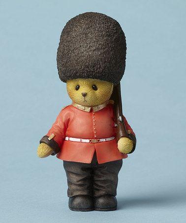 Another great find on #zulily! Cherished Teddies British Guard Figurine #zulilyfinds