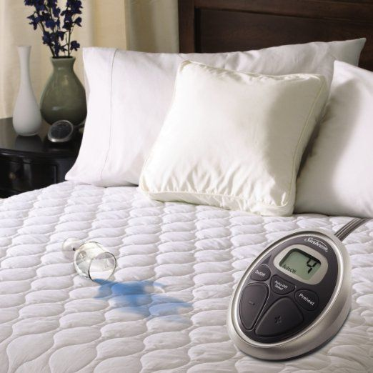 Sunbeam Waterproof Heated Mattress Pad, Full, MSU6SFS-T000-11A00
