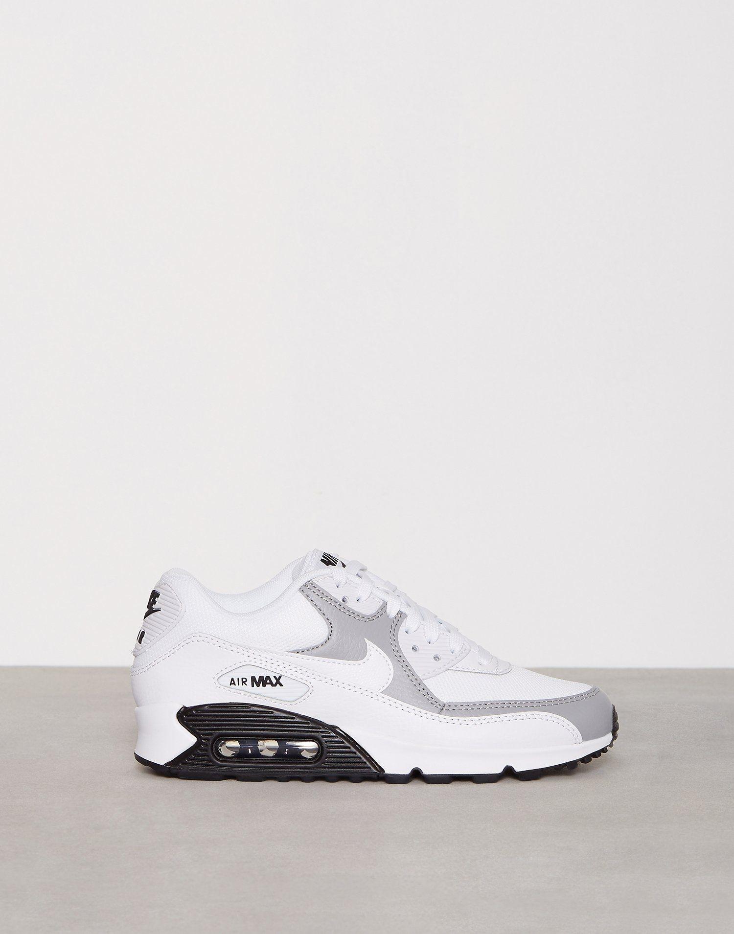 eda39de2 Air Max 90 - Nike - Hvit/Grå - Sneakers - Sko - Kvinne - Nelly.com ...
