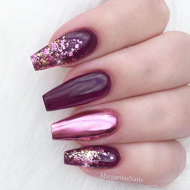Magnificent Ballerina Nail Shape Designs | Ballerina nails shape and ...