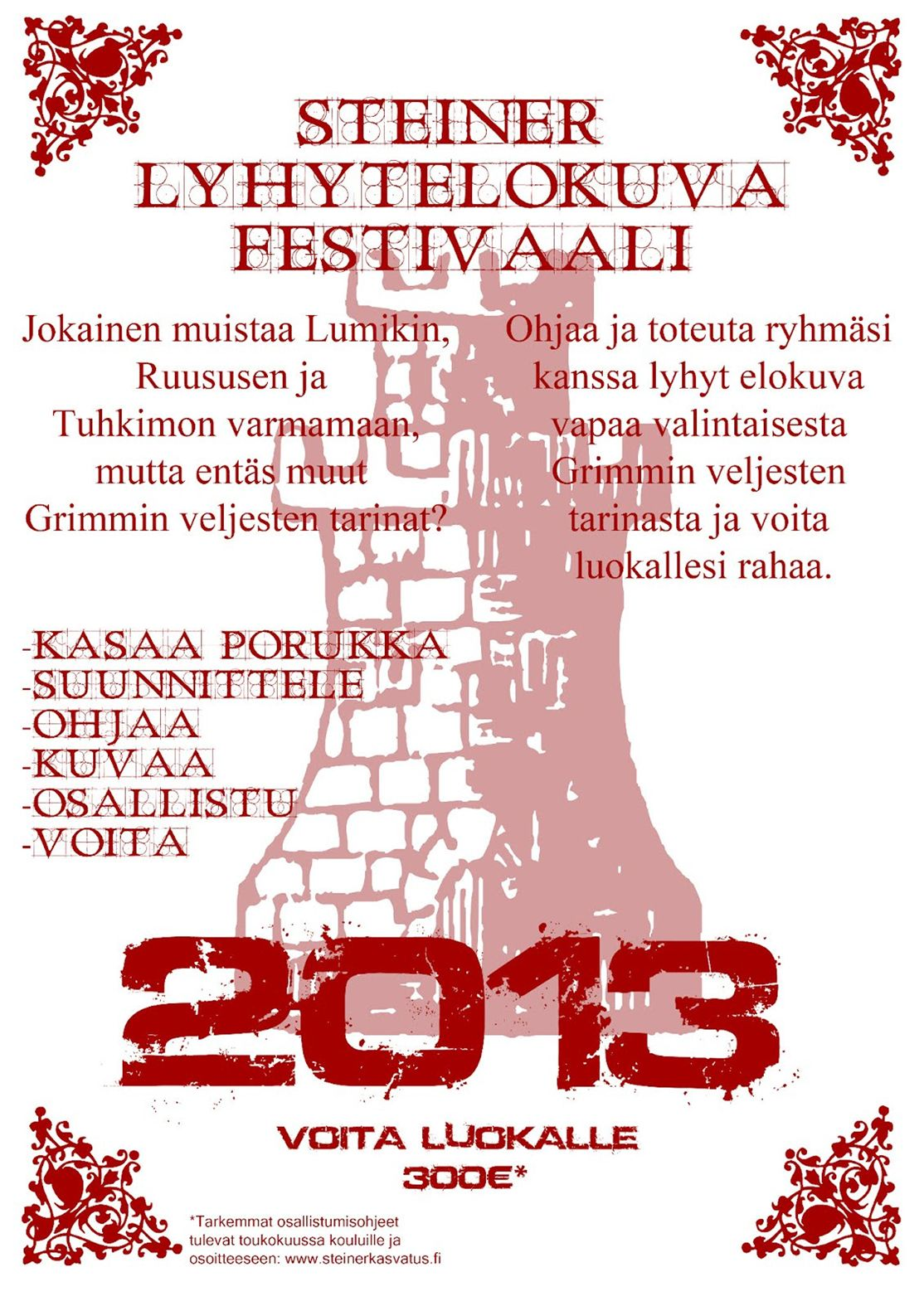 Steinerkoululaisten lyhytelokuva festivaali 2013