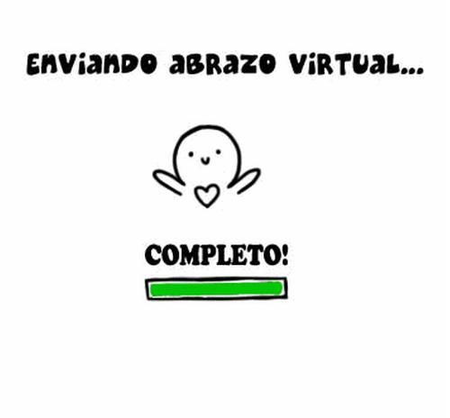Image result for Un abrazo virtual