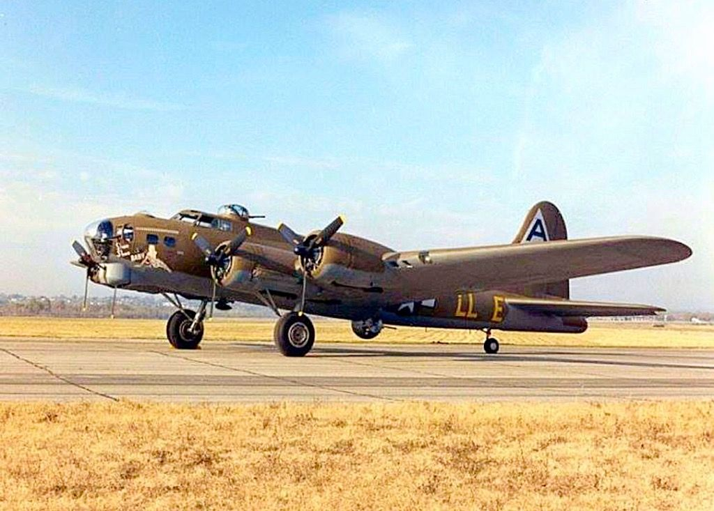 Nice looking Boeing B17G Flying Fortress. Aircraft