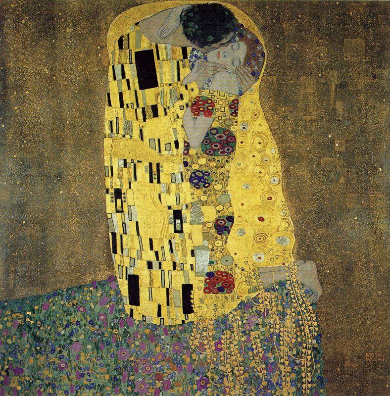 Gustav Klimt The Kiss 1908 Oil On Canvas Osterreichische Galerie Belvedere Vienna Klimt Gustav Klimt Gustav Klimt Der Kuss