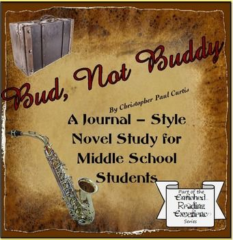 Bud, Not Buddy- A journal style approach to a novel study for middle school. A traditional novel study uses comprehension questions, vocabulary terms, and section quizzes. This journal style approach is different because the students engage with the text and each other as they explore what makes a book a great and enduring novel, not just a fun story. Each chapter will focus on one of the Common Core standards for literature: Key Ideas and Details, Craft and Structure, or Reading…
