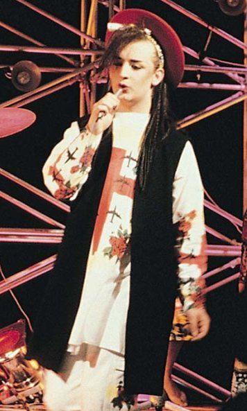 Boy George Carnival Outfits Punk Girl Rock And Roll Fashion