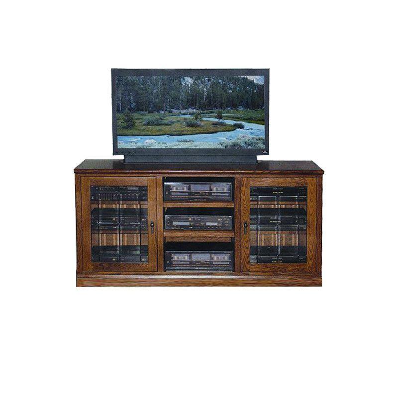 """FD-4127M - Mission Oak 62"""" TV Stand"""