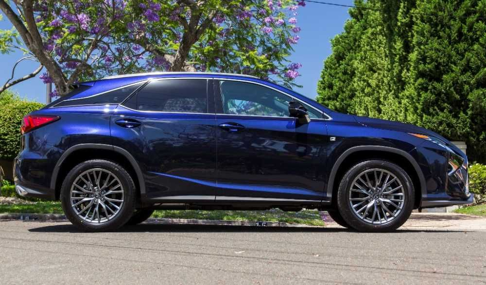 2017 lexus rx blue color right side view cool cars pinterest lexus models and cars. Black Bedroom Furniture Sets. Home Design Ideas