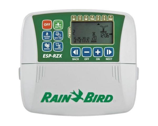 Rain Bird Rzx4i 120v 120 Volt 4 Zone Contractor Grade Controller For Residential Use Indoor Model Patio Garden Sprinkler Controller Rain Bird Lawn