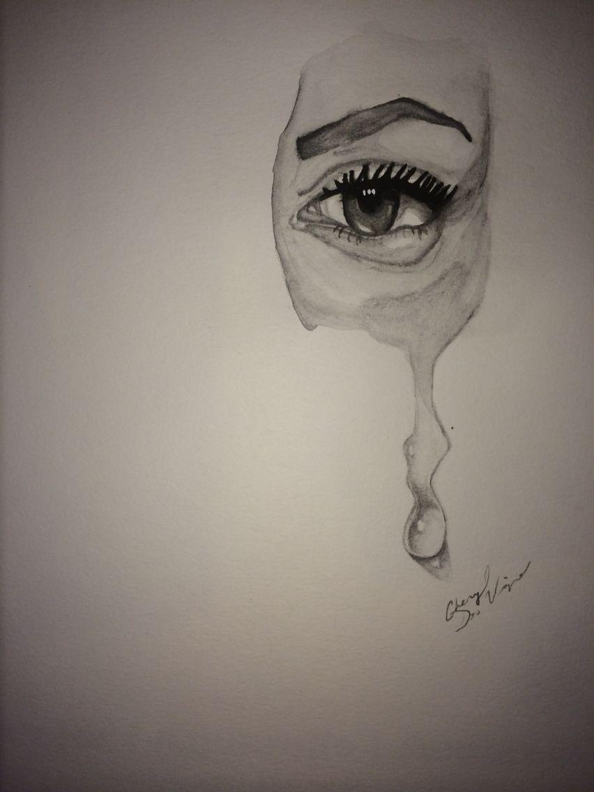 Drawing A Teardrop