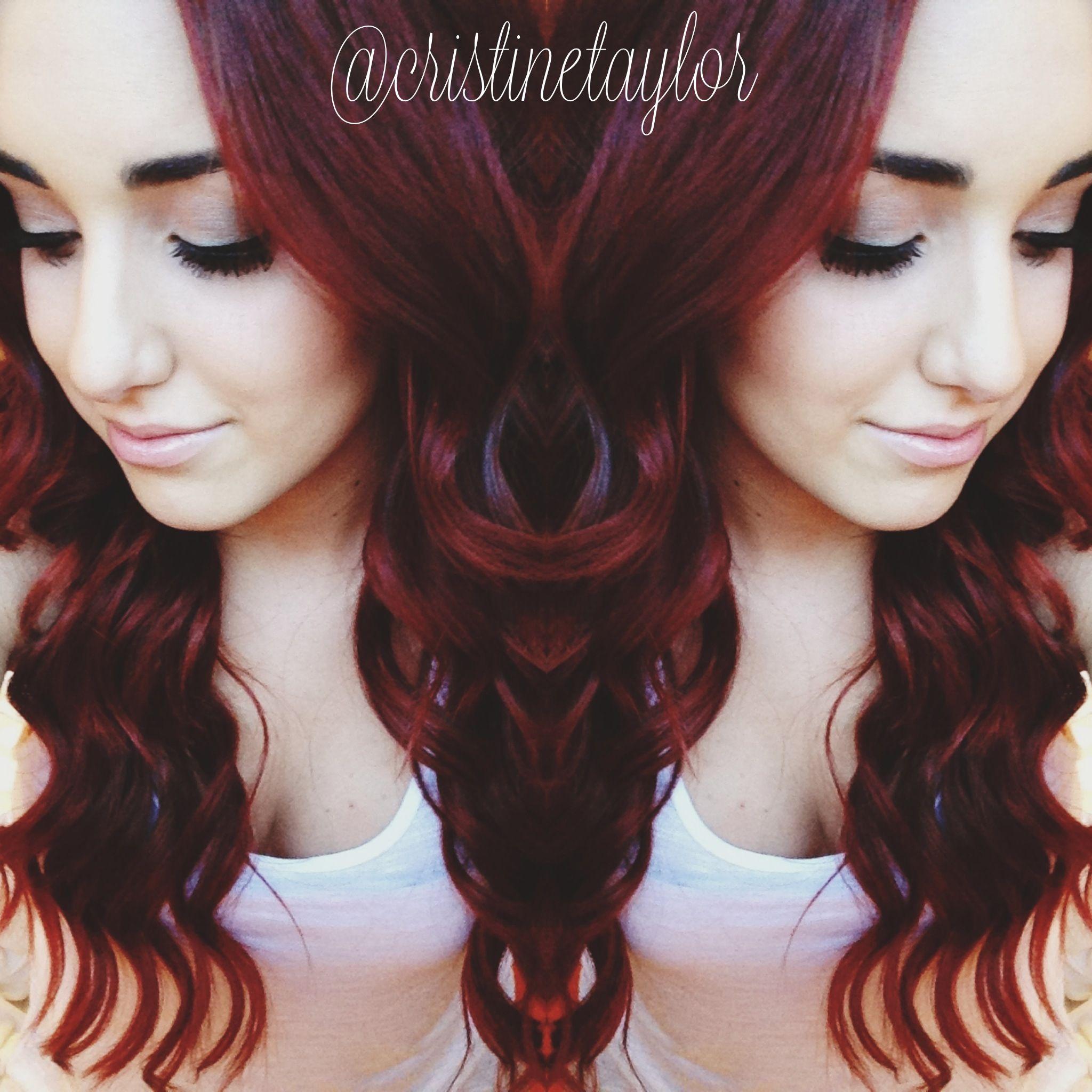 Redkin chromatics 6rr color stuff pinterest hair coloring red redkin chromatics 6rr color nvjuhfo Images